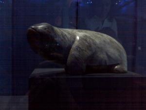 Bunyip sculpture, Gerald Francis Lewers, 1934