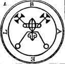 The lamen used in the ceremony to summon (and why would you want to?) Bael