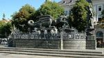 Klagenfurt, Austria has a fountain shaped like a lindwurm
